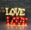 """Декоративный ночник """"LOVE"""""""