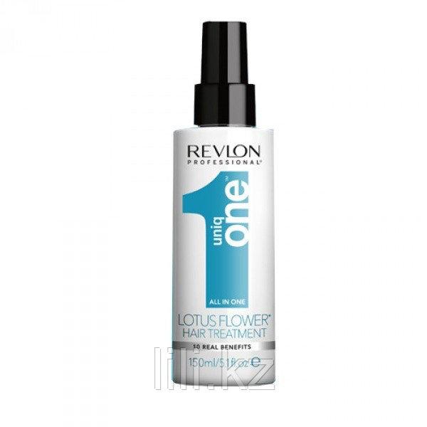 Несмываемая спрей-маска Лотус Revlon Uniq One Lotus Flower Hair Treatment 150 мл.