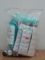 """Набор медикаментов для комплектации набора первой помощи """"Промышленный ТИП-1"""" в полиэтиленовом пакете"""