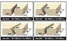 Пила торцовочная комбинированная, d= 250 x 30 мм, 1800Вт, 4500 об/мин, 90°- 75/130 мм, 45°- 35/90 мм, фото 2