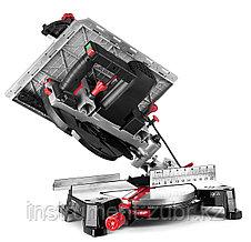 Пила торцовочная комбинированная, d= 250 x 30 мм, 1800Вт, 4500 об/мин, 90°- 75/130 мм, 45°- 35/90 мм, фото 3