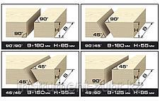 Пила торцовочная комбинированная, d= 305 x 30 мм, 1900Вт, 4200 об/мин, 90°- 85/180 мм, 45°- 55/125 мм, фото 2