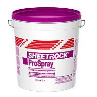 Финишная готовая шпатлевка SHEETROCK ProSpray для нанесение распылителем 15 л