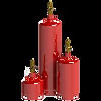 """Модуль пожаротушения газовый МПТГ-""""PROFFEX"""" - (65-40-32)"""