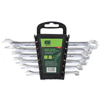 (15446) Набор ключей комбинированных, 8 - 17 мм, CrV,  6 шт.