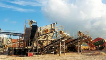 Дробильно-сортировочный комплекс (ДСК) полумобильный, фото 3