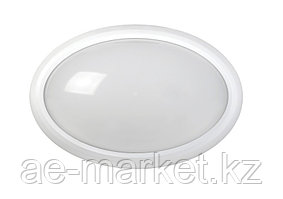 LED ДПО 3020 Овал. 8w IP54 бел
