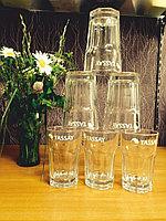 Кружки, стаканы, стеклянные