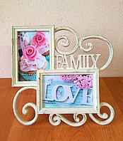 """Фоторамка """"Family"""" на 2 фото , фото 1"""