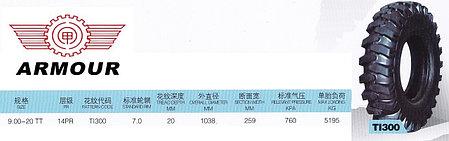 9,00-20 PR14 TI300 TTF ARMOUR, фото 2