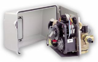 Блок управления на фильтрацию с таймером для горячей воды Fleck 2750 Filter chr.HW, фото 2