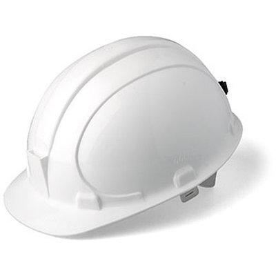Каска защитная «Шахтер» белая