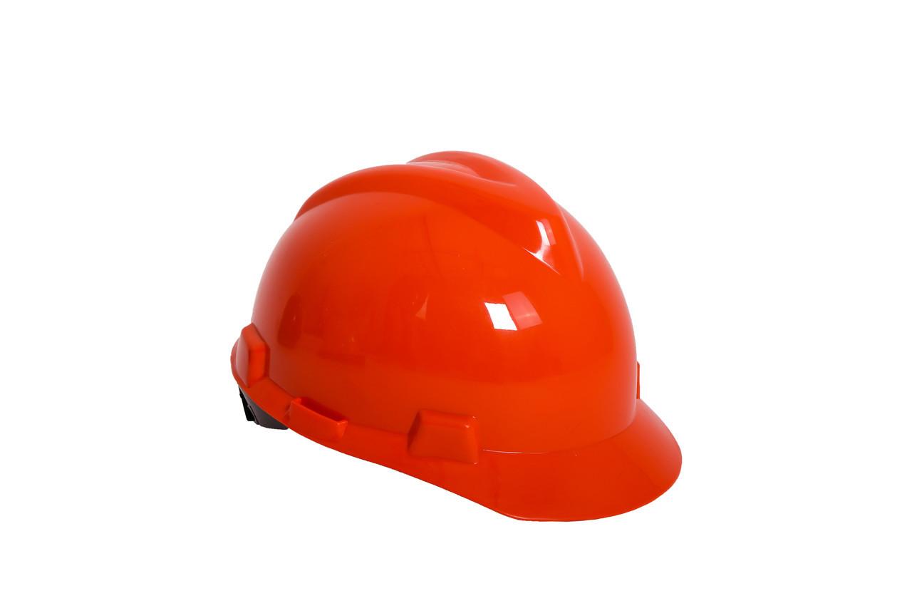 Каска защитная красная
