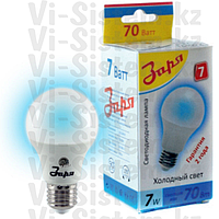 Лампа светодиодная Заря А60 А3 7W E27 6400-6500K