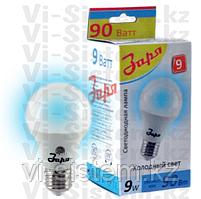 Лампа светодиодная Заря 9W E27 6400K A60