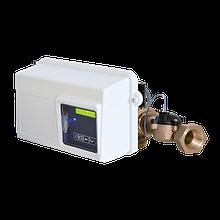 Блок управления на фильтр. с таймером для горячей воды Fleck 2850Filter chr. HW