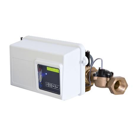 Блок управления на фильтр. с таймером для горячей воды Fleck 2850Filter chr. HW, фото 2