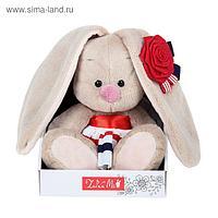 Мягкая игрушка «Зайка Ми» в морском костюме, 15 см