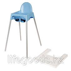 Детский стульчик для кормления (голубой), М6249, фото 3