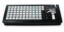 Клавиатура программируемая c ридером магнитных карт Posiflex KB-6600
