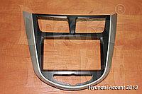 Переходная рамка Hyundai Accent, 2DIN, пластик, фото 1