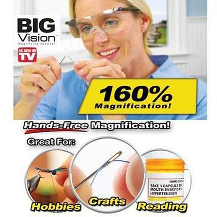Увеличительные очки Big Vision увеличивают на 160%, фото 2