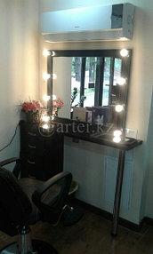 Монтаж зеркал в салон красоты 2