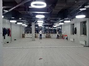 Установка зеркала в спортивный зал 2