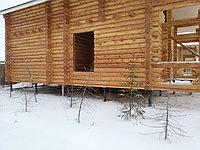 Фундамент для деревянного дома