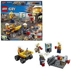 Lego City Бригада шахтеров 60184