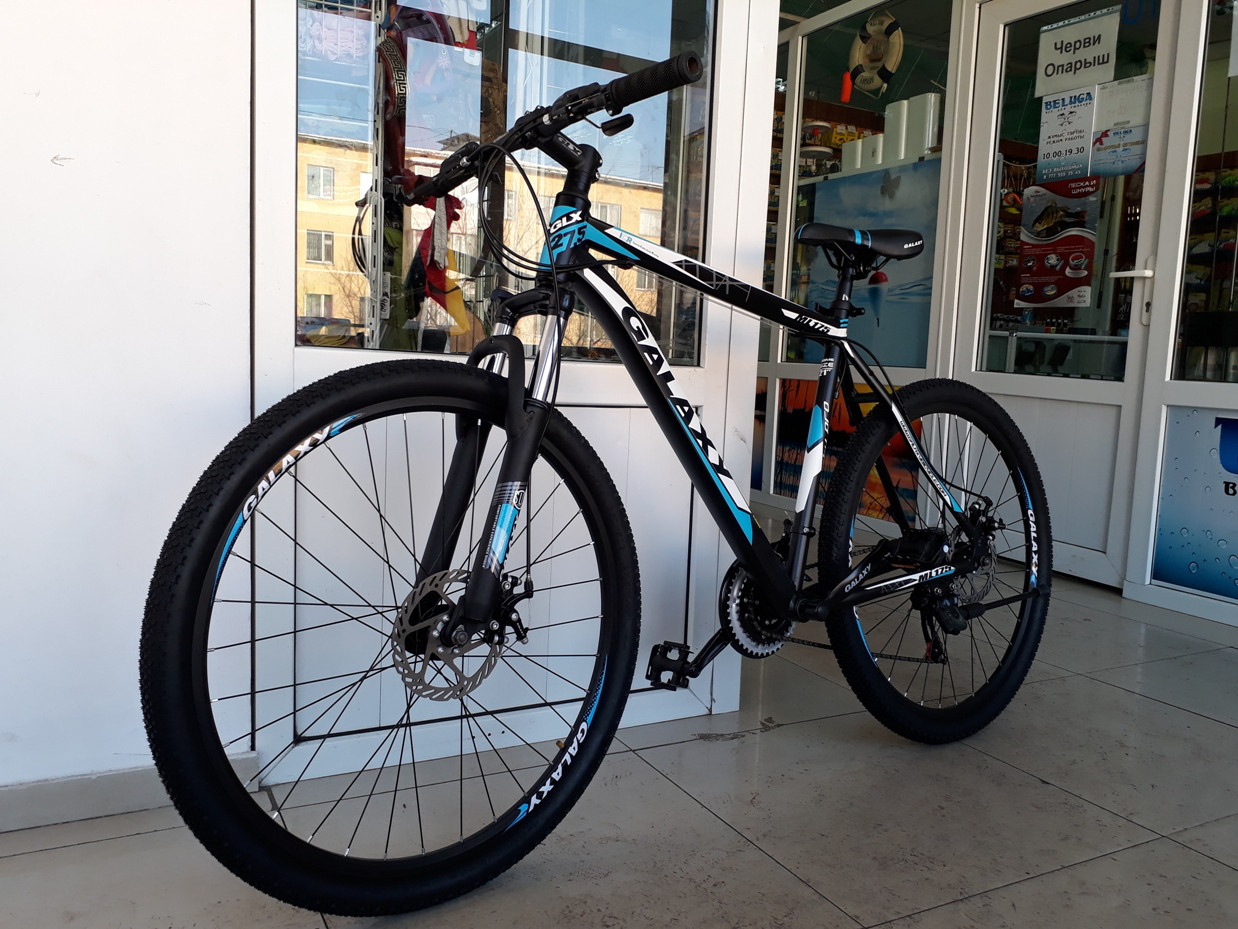 Велосипед взрослый Galaxy 21 дюйм рама