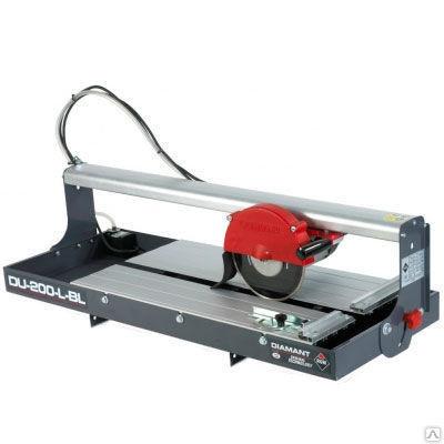 Электрический плиткорез Rubi DU 200 LBL