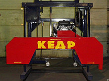 Пилорама ленточная «Кедр-4Б»