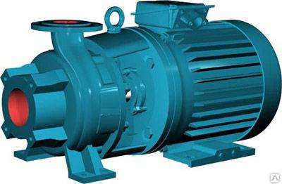 Насос консольный моноблочный КМ 65-50-160 двигателем