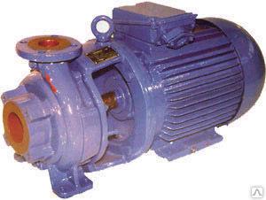 Насос консольный моноблочный КМ 50-32-125 б.дв