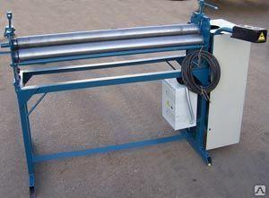 Вальцы эл-механ с ручным прижимом (машина гибочная) МГ-1000-В