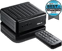 Мини-ПК ASRock BEEBOX N3010/B/BB N3010 (2,24GHz), 2xSO-DIMM DDR3L, 1xSATA3, 1x WiFi BT4.0 mSATA На лицевой пан, фото 1
