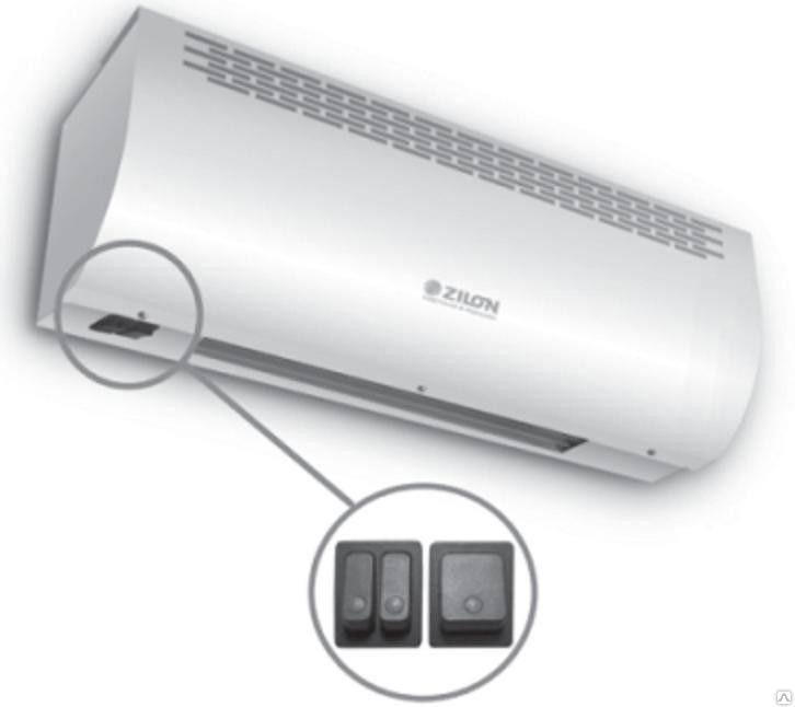 Тепловая завеса электрическая  ZILON ZVV-0.6Е3М