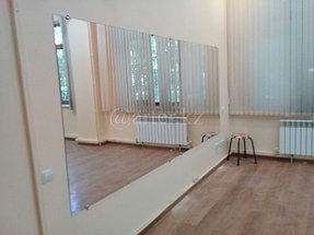 Монтаж зеркал в танцевальный зал 1