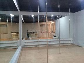 Установка зеркал в танцевальный зал 1