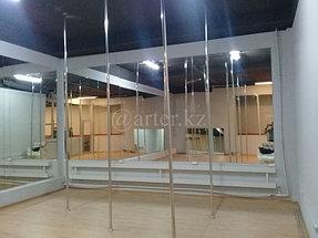 Установка зеркал в танцевальный зал 2