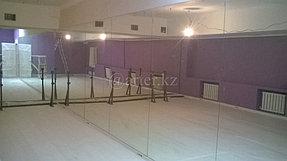 Монтаж зеркал в танцевальный зал 2
