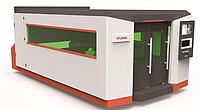 Полностью закрытое оборудование лазерной резки с волоконным столом XTC-FS1530(S/H), фото 1