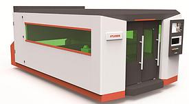 Полностью закрытое оборудование лазерной резки с волоконным столом XTC-FS1530(S/H)