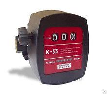Cчетчик расхода учета дизельного топлива Petroll K 33