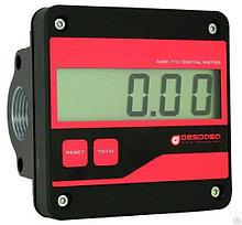 Счетчик электронный расхода учета дизельного топлива Gespasa MGE-110