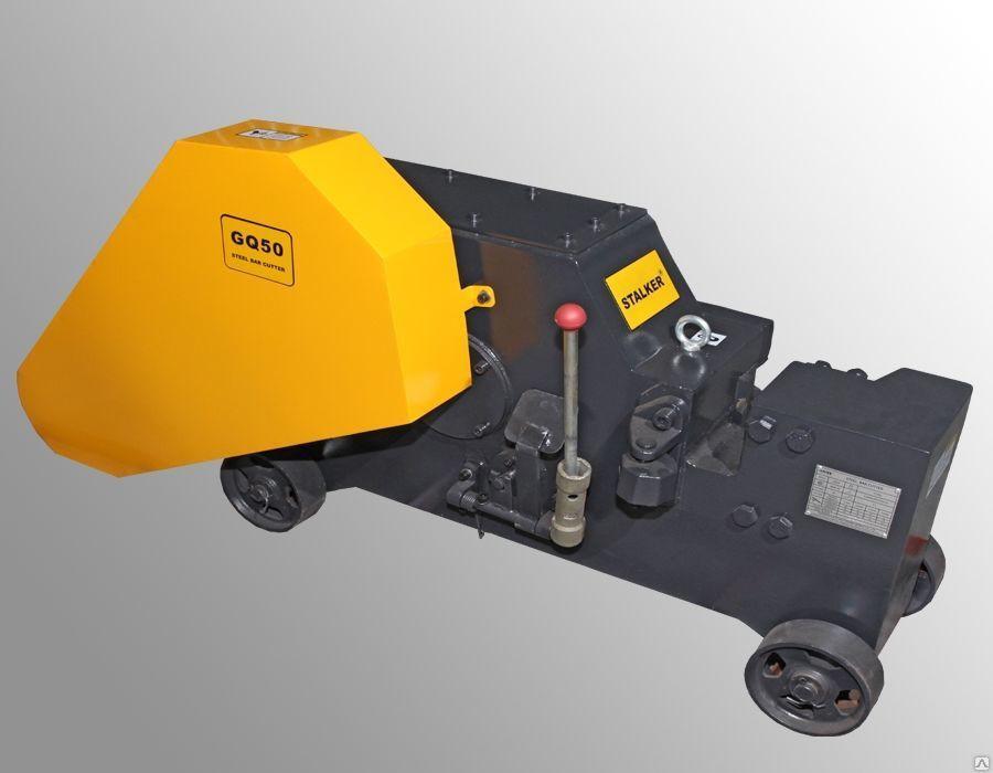 Станок для резки арматуры до 50 мм Stalker GQ50