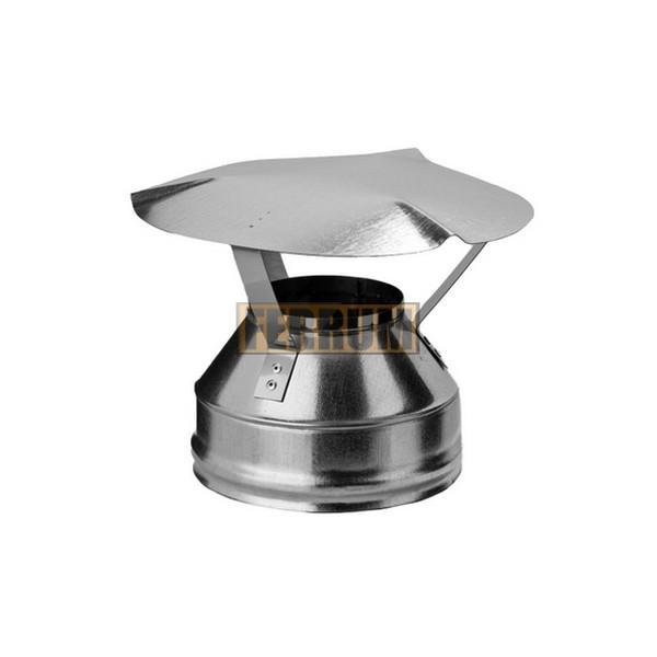 Оголокок для дымохода Ferrum из нержавеющей стали 430/0,5 мм 1000мм, Ф120х200