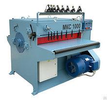 Кромкообрезной многопильный станок МКС-1000