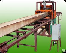 Cтанок многопильный «Алтай-М450» для распиловки лафета и бруса